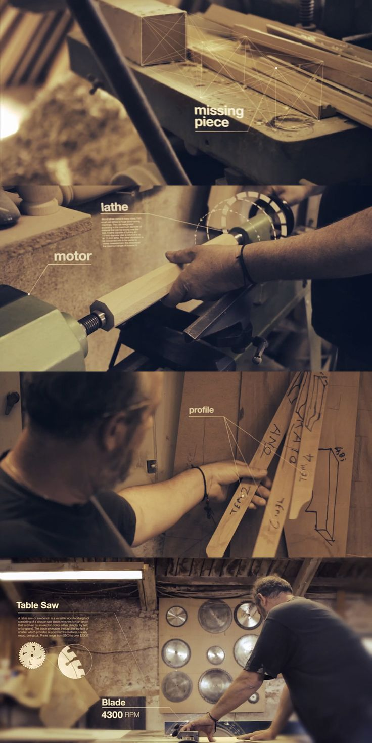 The Art of Making, The Carpenter from Dimitris Ladopoulos on Vimeo. Cinematography. Animation. Motion Graphics. Infographic video.