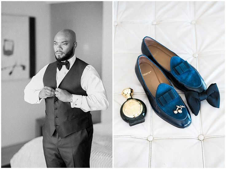 Groom style in a three piece suit. Suede loafers. Image by Tyme Photography