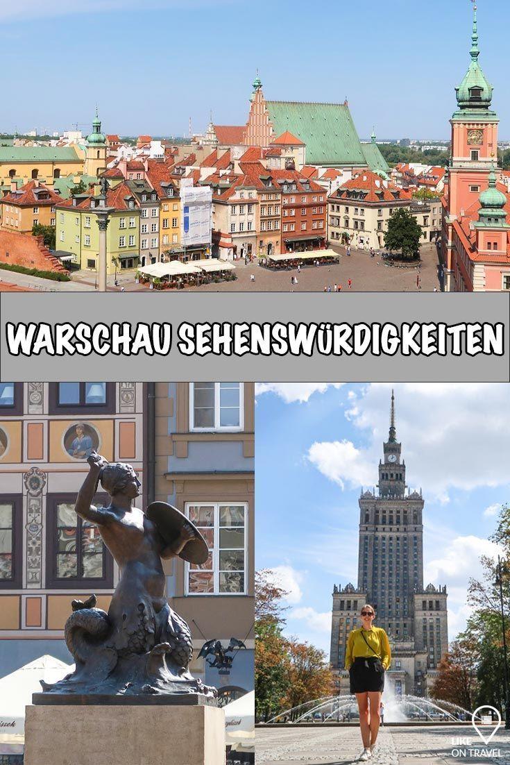 Warschau Sehenswurdigkeiten Unsere Tipps Fur Die Stadtereise Reisen Stadte Reise Und Sehenswurdigkeiten