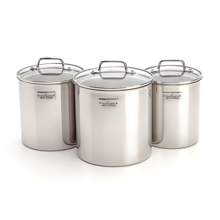 All-Clad Specialties Stainless Steel Canister Set - 59932