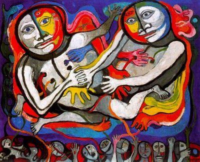 Raquel Forner (1902-1988), El encuentro.
