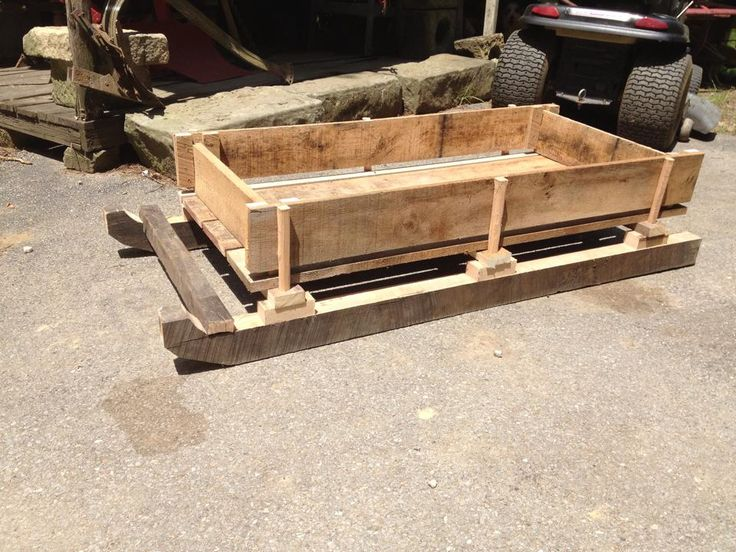 29 best images about homemade sled ideas on pinterest for Ice fishing sled ideas