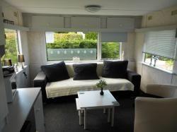 Vakantiewoningen Nederland , Sta caravan te huur in Zeeland   Haamstede