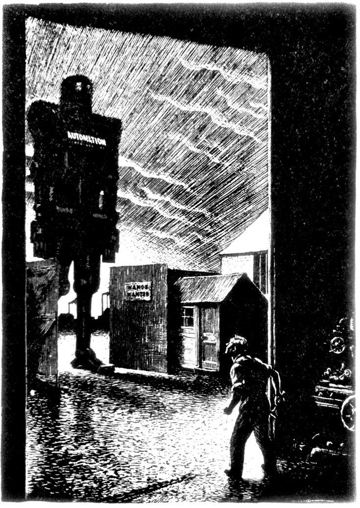 Leslie Illingworth's Friend or Foe? cartoon, june 29, 1955, Punch magazine.