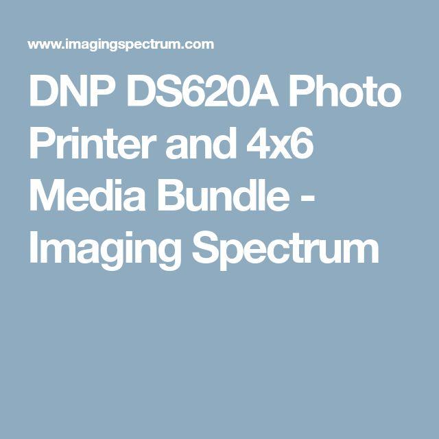 DNP DS620A Photo Printer and 4x6 Media Bundle - Imaging Spectrum