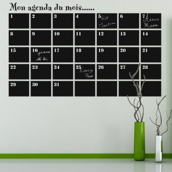 17 best images about planning mural on pinterest - Grand calendrier mural ...