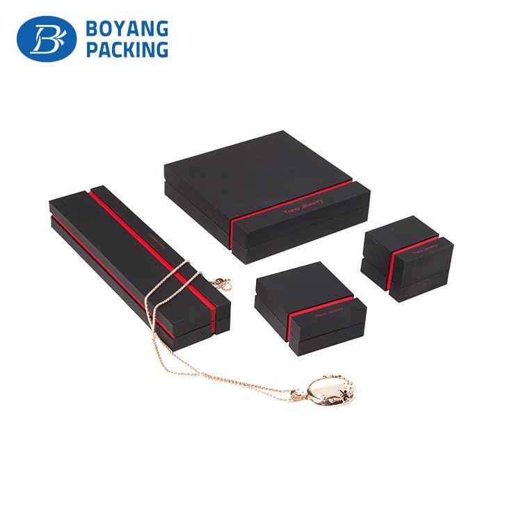 Customized jewelry box, black mens jewelry box manufacturers
