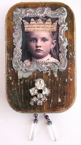 Paper Whimsey Altered Tin Assemblage