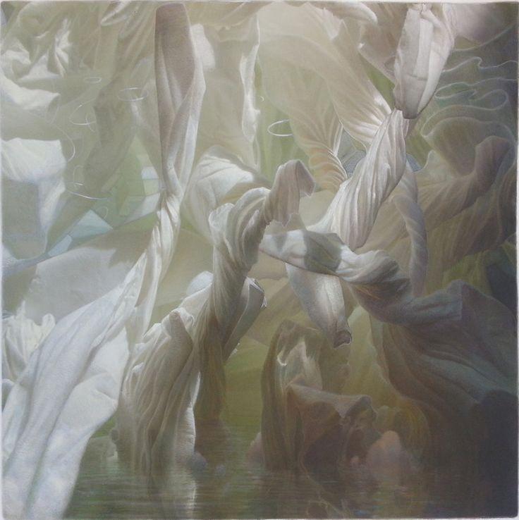 """Saatchi Online Artist: Art Venti; Colored Pencils, 2008, Drawing """"Engaged in Metamorphesis"""""""