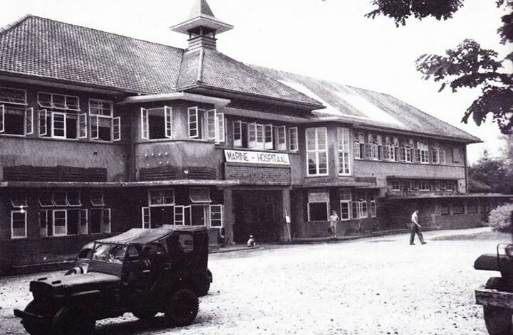RSAL th 1946 - sekarang bagian utara RS Dr Soetomo seberang FK Unair