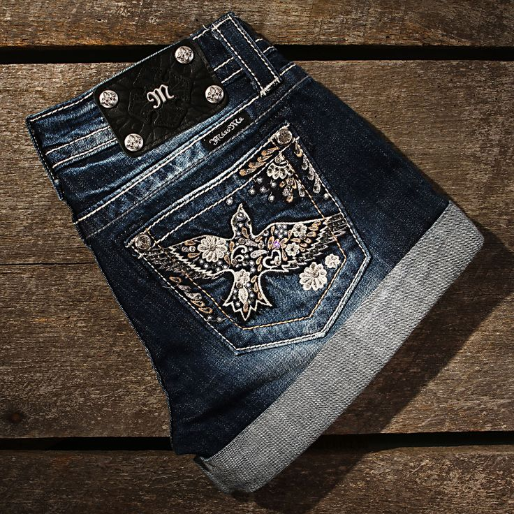 Miss Me 60's Bird Shorts All Womens Jeans LOVE!!