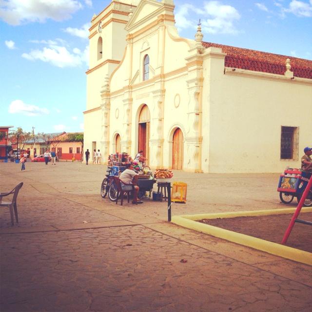 Cathedral in masaya Nicaragua