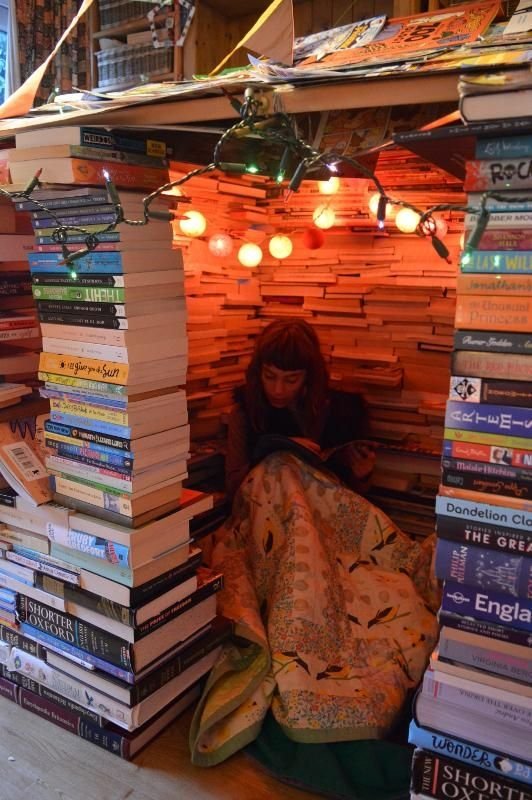 Why you should build a reading den, and how to do it.: