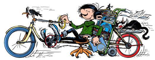 Mijn favoriete strip op google:-) 57e verjaardag van Guust Flater