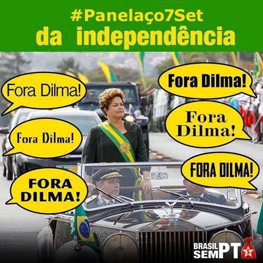 Marcha do Panelaço no Dia da Independência #Panelaço7Set – Heyevent.com