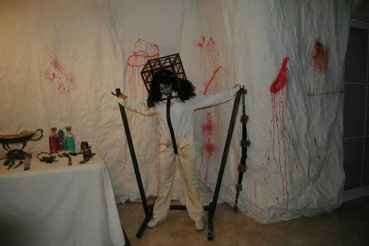 Vero 3 Halloween 2012 13 Fantasmas Chacal Makeup Chacal Halloween Fantasmas Chacales