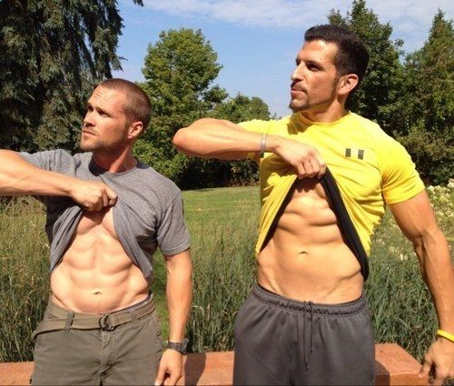 Inspiration (fitness Trainers: Chris Powell And Drew