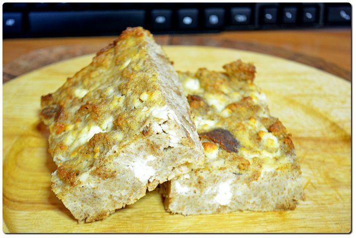 Τυρόπιτα με ψωμί ολικής