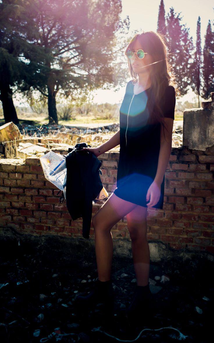 SUMMER FESTIVAL COLLECTION: #coachella inspiration. Black playsuit. #boho http://www.lolandtonic.com/products/franz-playsuit-2