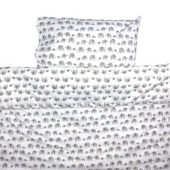 Grey Elephant Toddler Cot Bed Duvet Set and Toddler Bedding Online