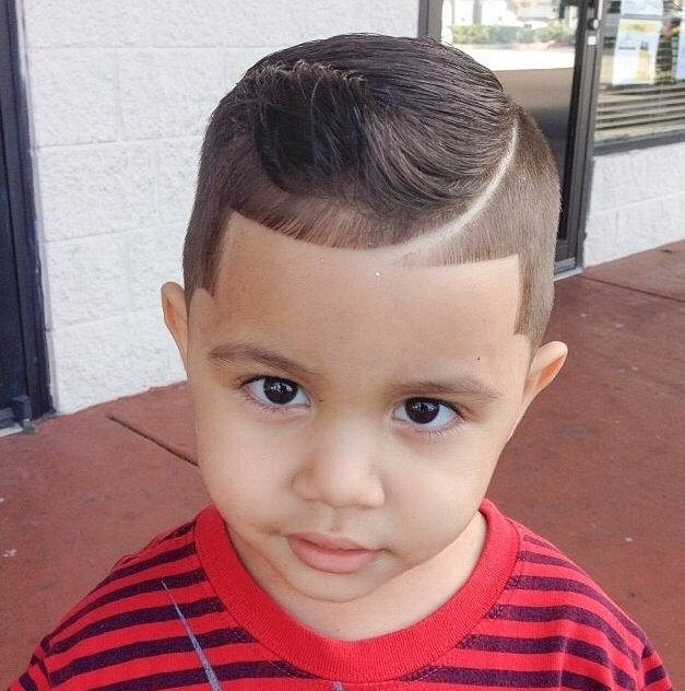 Awesome haircut for a kid