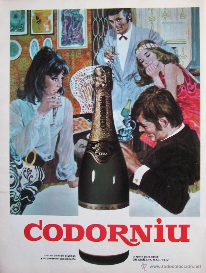 CODORNIU. AÑOS 60