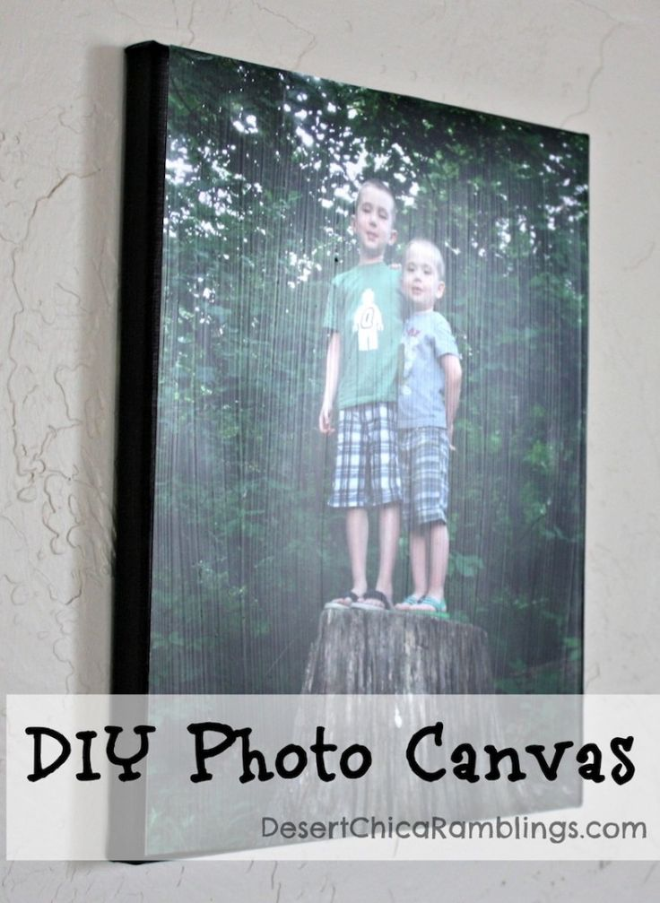 DIY Photo Canvas {Gift Idea} | Desert Chica