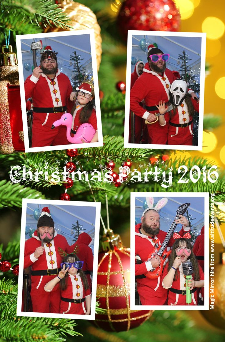 Amazing Alternative Christmas Party Ideas Part - 14: Props Galore With Our Magic Selfie Mirror - A Superb Alternative To A  Photobooth!