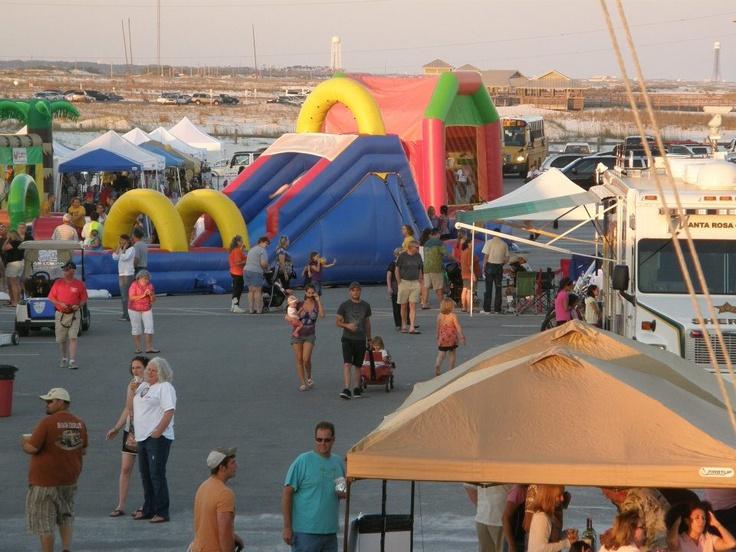 The Navarre Beach Fun Fest Pensacola Beach Pinterest