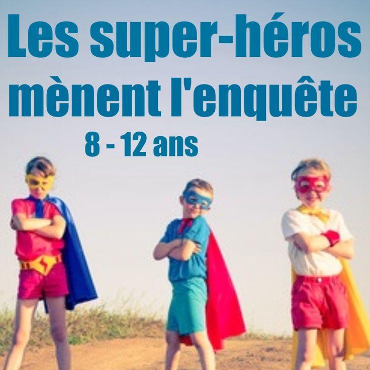 Enquête de super-héros prête à l'emploi, il vous suffit de la télécharger et de l'imprimer pour jouer. Idéal pour une fête d'anniversaire pour enfants !!