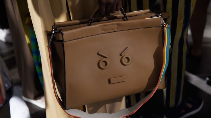 Fendi Put an Angry Face Emoji on a Briefcase - Racked
