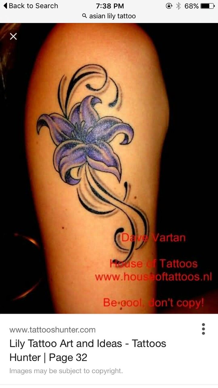 The best images about flower tattoos on pinterest flower lily