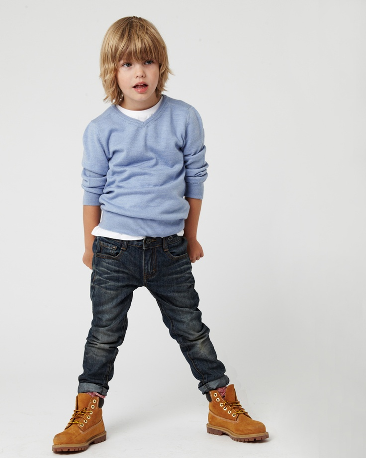 the W13 VEE MERINO Knit, available in 3 colours in ages 3 - 14. the CARPENTER jean, available in ages 3 - 14. www.industriekids.com.au