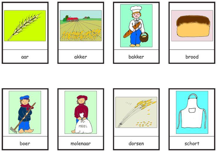 woordkaarten bakker 1