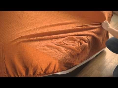 Couvre-Canapé d'Angle avec accoudoirs cousus - YouTube