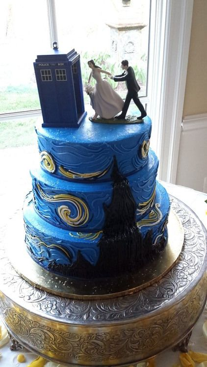 doctor who wedding cake - Google Search