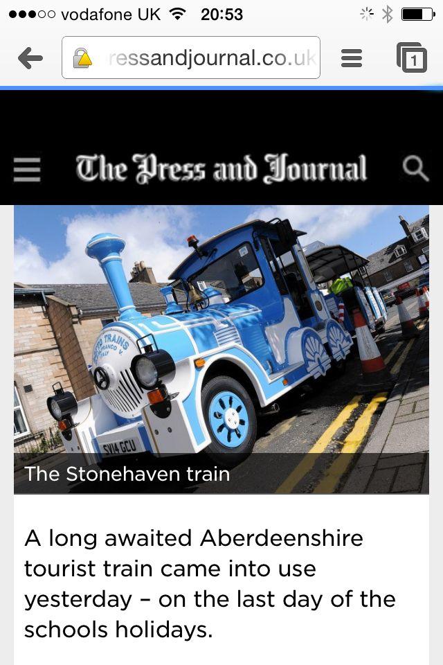 Stonehaven land train