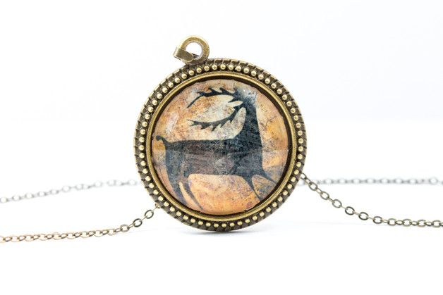 Deer Necklace [Cave Art Collection]