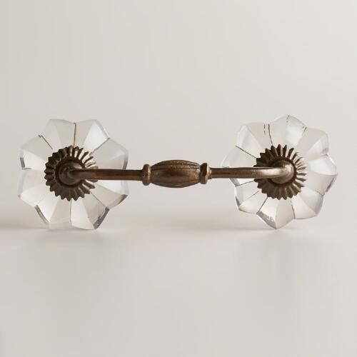 One of my favorite discoveries at WorldMarket.com: Clear Watermelon Drawer Pulls, Set of 2--desk? dresser?