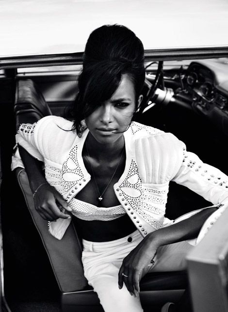 lais ribeiro, vogue germany: White Photography, Vogue Germany, Black White, Artists Inspiration, Fashion Photography, Vogue Magazines, Sixty Inspiration, Mod Beehive, Lais Ribeiro