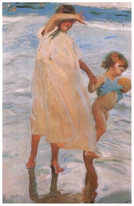 Две сестры, 1909. Хоакин Соролья
