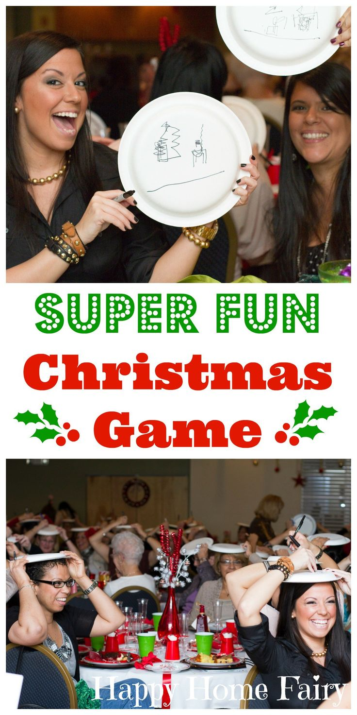 THIS SUPER FUN CHRISTMAS GAME IS PERFECT FOR HOLIDAY PARTIES! EASY TO DO WITH A BIG CROWD!! SO MANY LAUGHS!