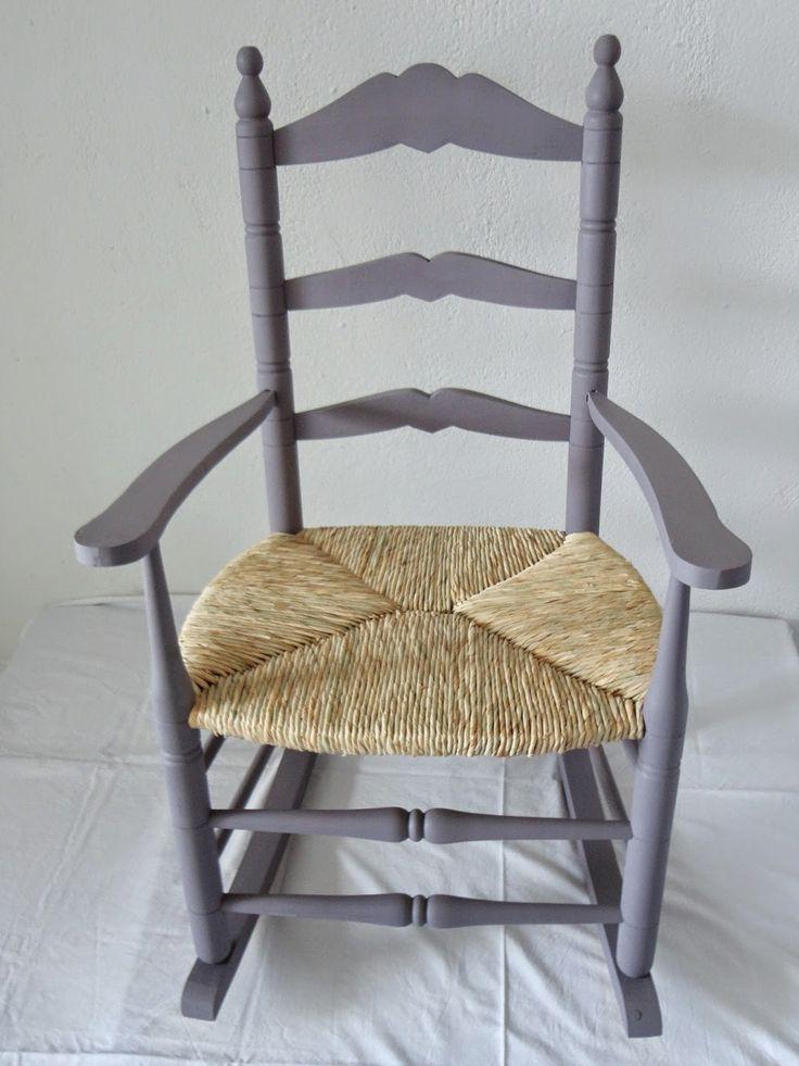 Las 25 mejores ideas sobre sillas mecedoras en pinterest for Sillas antiguas tapizadas modernas