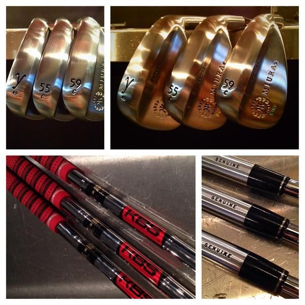 """August 8, 2014: """"These Miura Golf wedges are the result of the Modern Golf wedge experience,"""" explained Ryan Barath."""