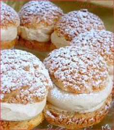 PARIS-BREST de P. Conticini (Insert praliné : 100 g de praliné) (CRAQUELIN : 50 g de farine, 50 g de cassonade, 1 pincée de sel, 40 g de beurre) (PATE A CHOUX : 125 g d'eau, 2 g de sucre, 2 g de sel, 60 g de beurre, 80 g de farine T45, 125 g d'œufs) (CREME AU PRALINE : 2 jaunes d'œufs, 50 g de sucre, 10 g de maïzena, 10 g de farine T45, 25 cl de lait entier, 1/2 gousse de vanille, 150 g de beurre, 75 g de praliné)