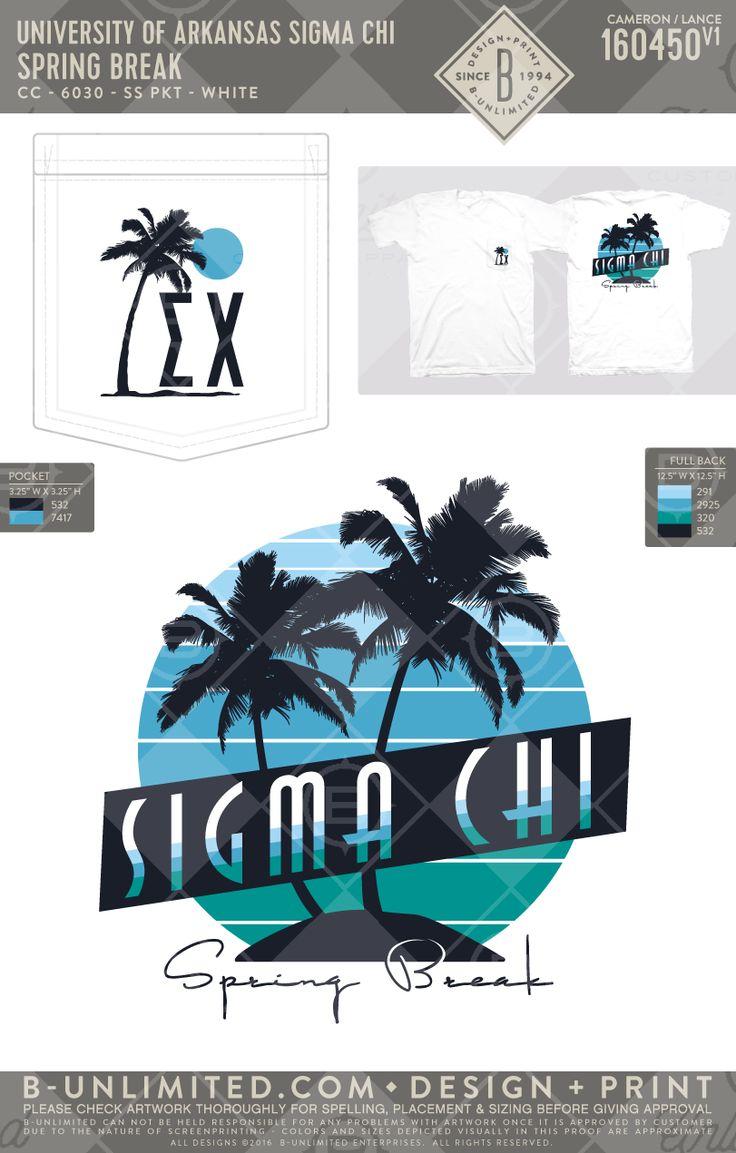Sigma Chi Spring Break! #BUonYOU #greek #greektshirts #greekshirts #fraternity #springbreak #palmtree #beach #rush #sigmachi