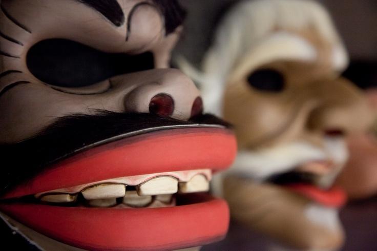 TOPENG PAJEGAN | Indonezyjski Mistrz I Made Djimat. Spektakl 10 wcieleń.    Fot. Joanna Stoga