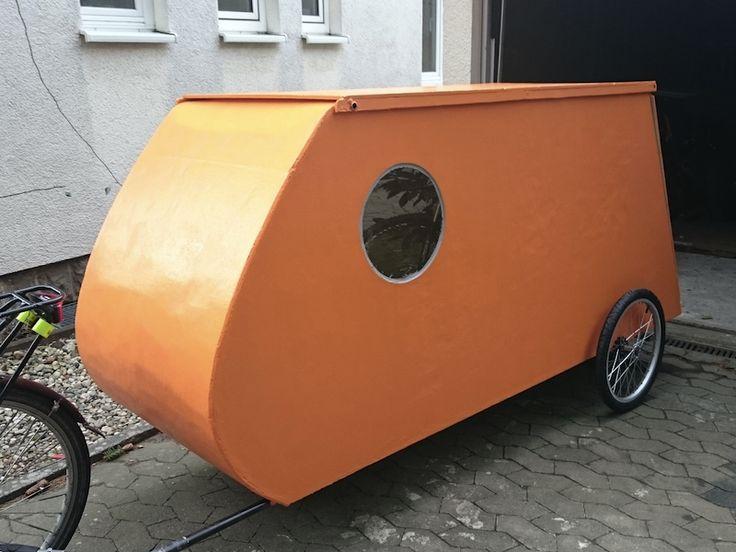 Prototyp Fahrradwohnwagen Maus