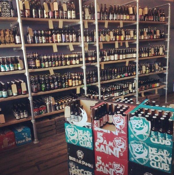 BrewDog Bottleshop-Holborn-London