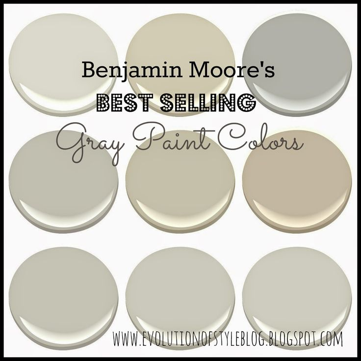 It comes to selecting colors in your home  I figured I would share Benjamin  Moore s best selling grays  with some photo inspiration to go along with it 1431 best Paint Colors  Gray  The Perfect Gray  images on  . Great Neutral Paint Colors Benjamin Moore. Home Design Ideas